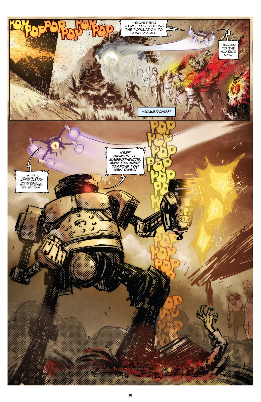 Zombies vs Robots (2015) Issue #1 Page 11