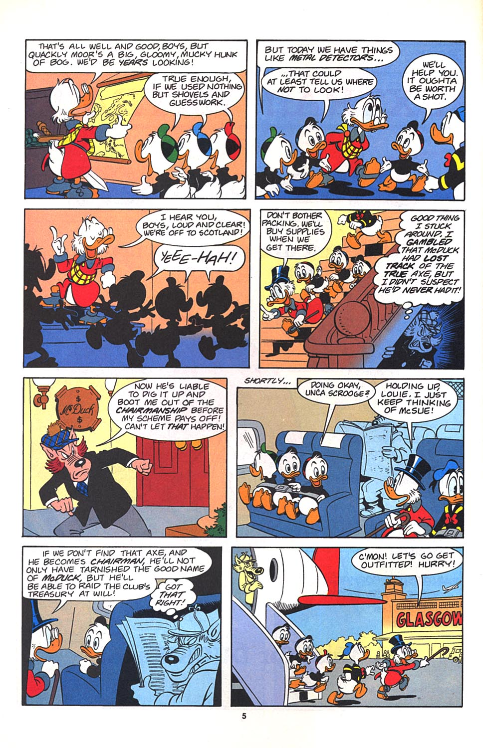 Uncle Scrooge (1953) Issue #272 #272 - English 6