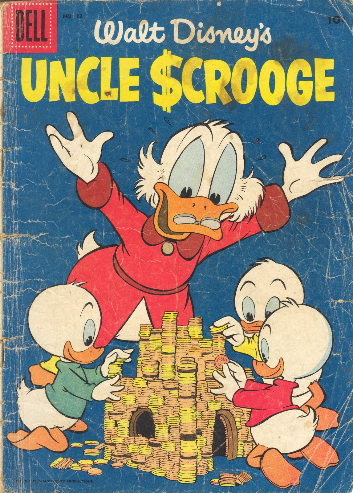 Uncle Scrooge (1953) Issue #13 #13 - English 1