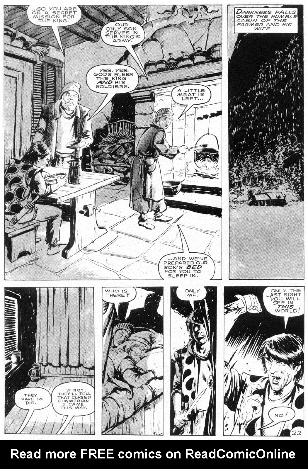 The Savage Sword Of Conan Issue #154 #155 - English 25