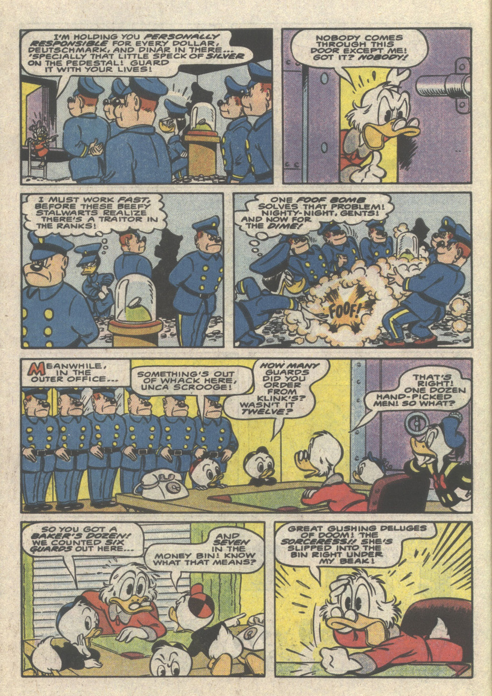 Uncle Scrooge (1953) Issue #223 #223 - English 6