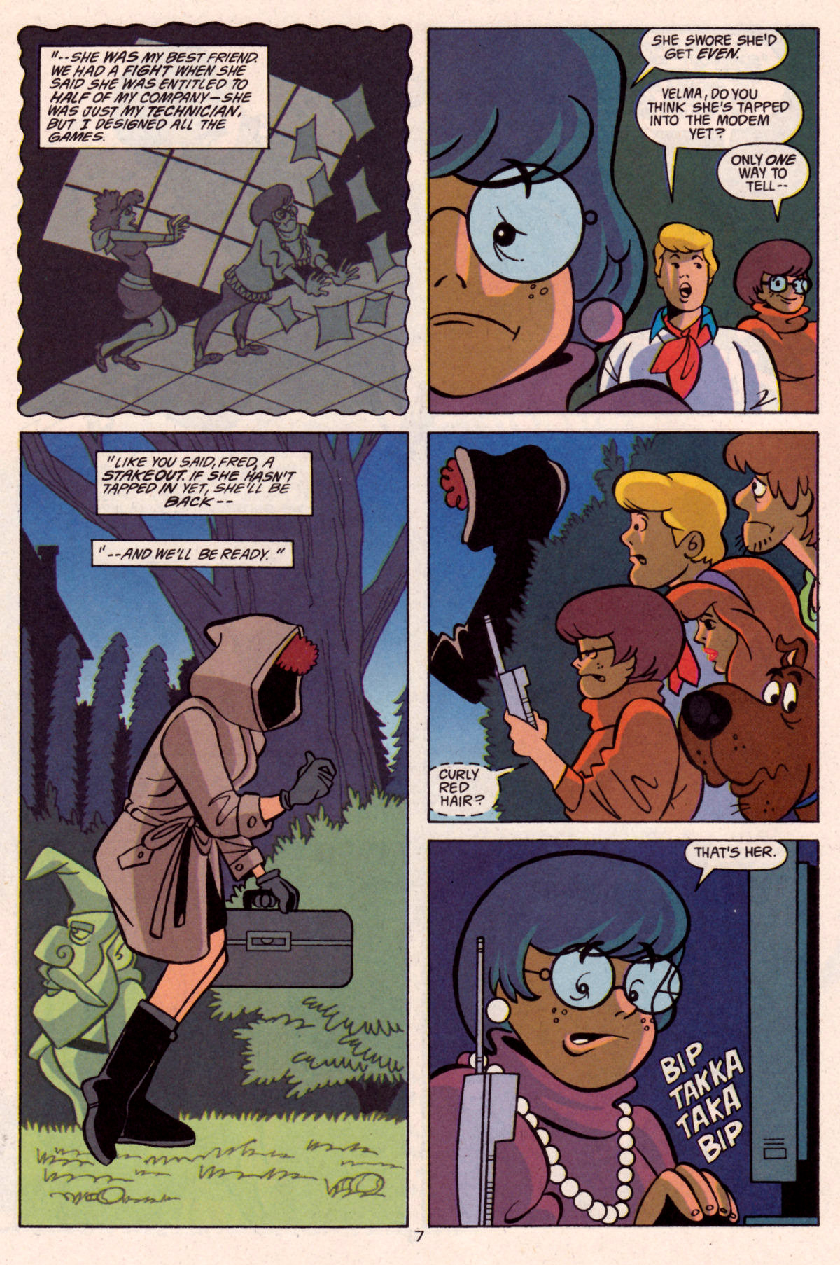 Read online Scooby-Doo (1997) comic -  Issue #12 - 22