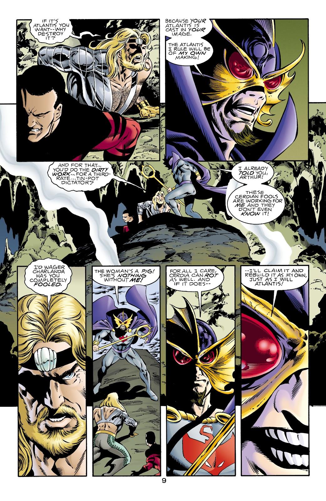 Aquaman (1994) Issue #67 #73 - English 9