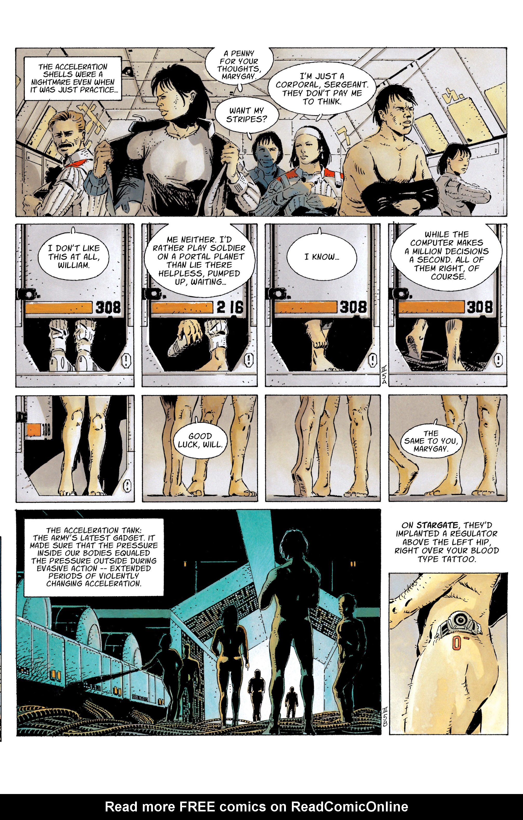 The Forever War (2017) #3 #4 - English 9