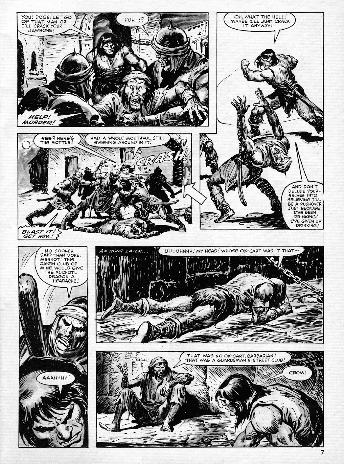 The Savage Sword Of Conan Issue #77 #78 - English 7