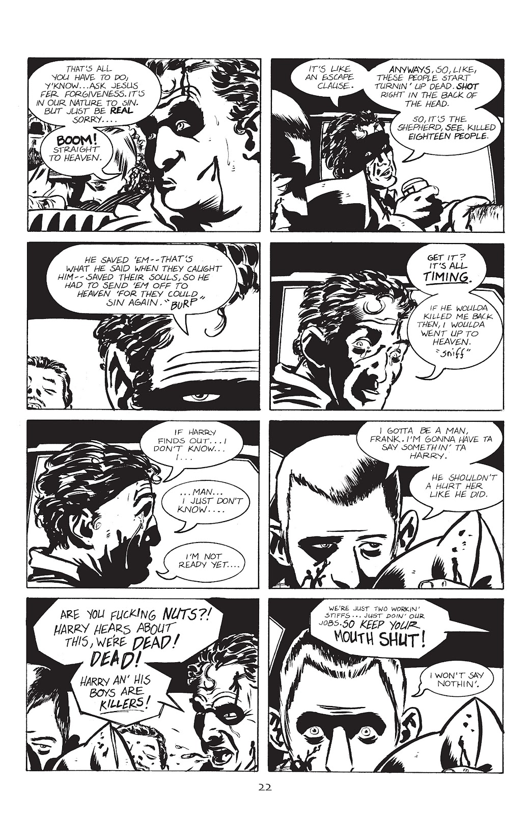 Stray Bullets Issue #1 #1 - English 25