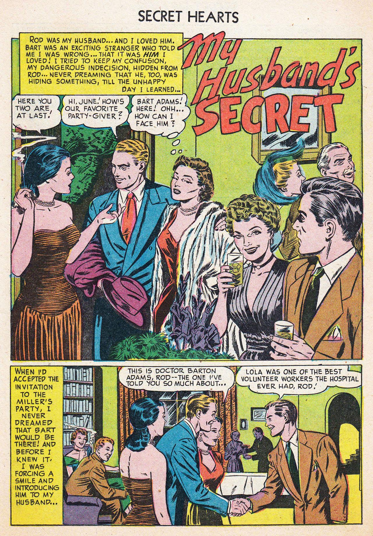 Read online Secret Hearts comic -  Issue #13 - 11