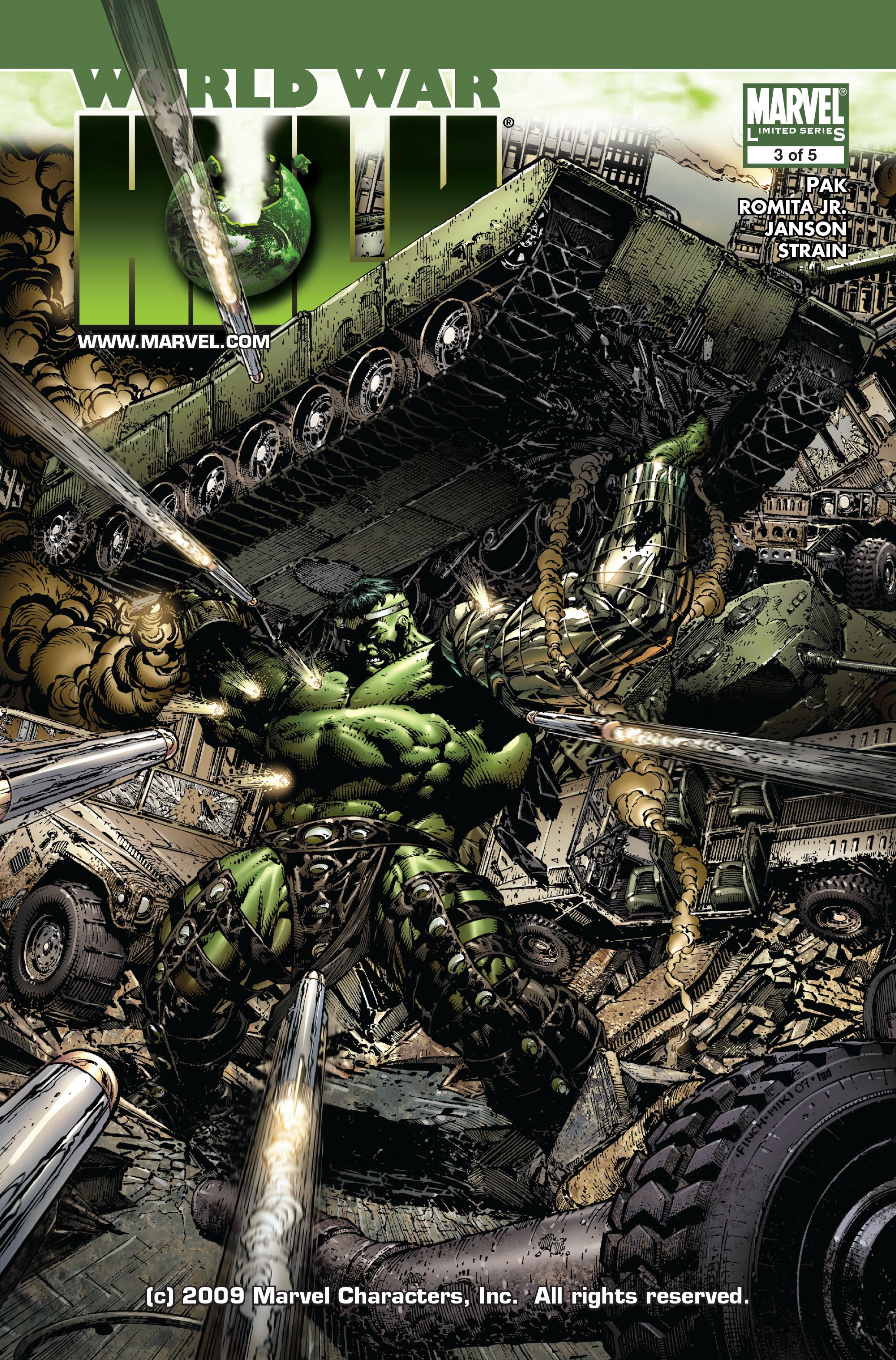 World War Hulk issue 3 - Page 1