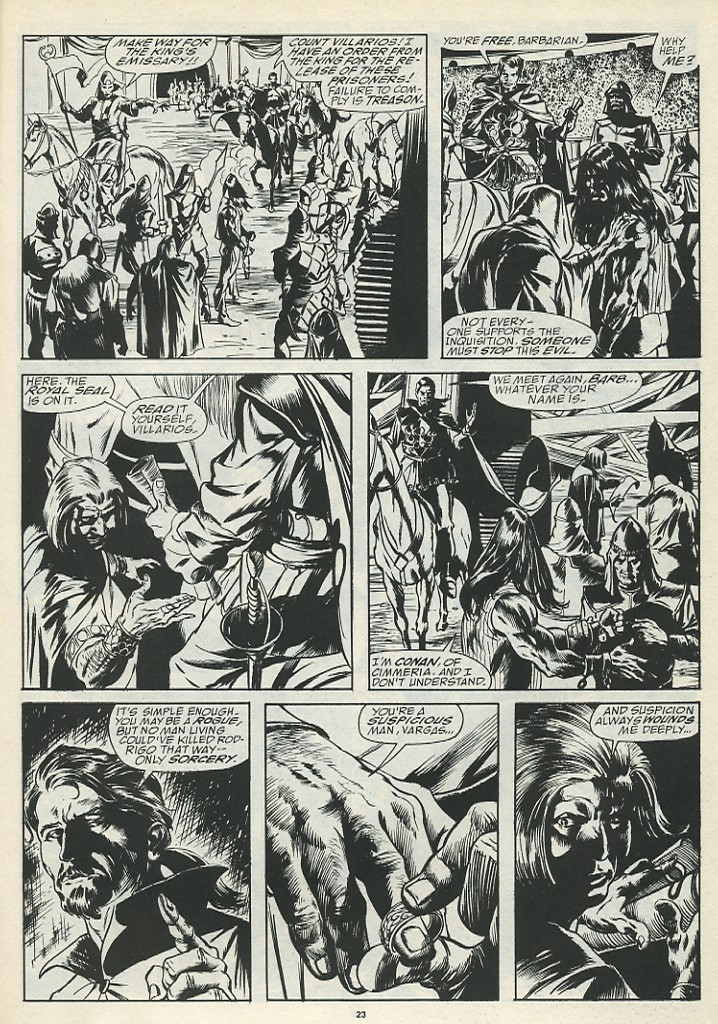 The Savage Sword Of Conan Issue #185 #186 - English 25