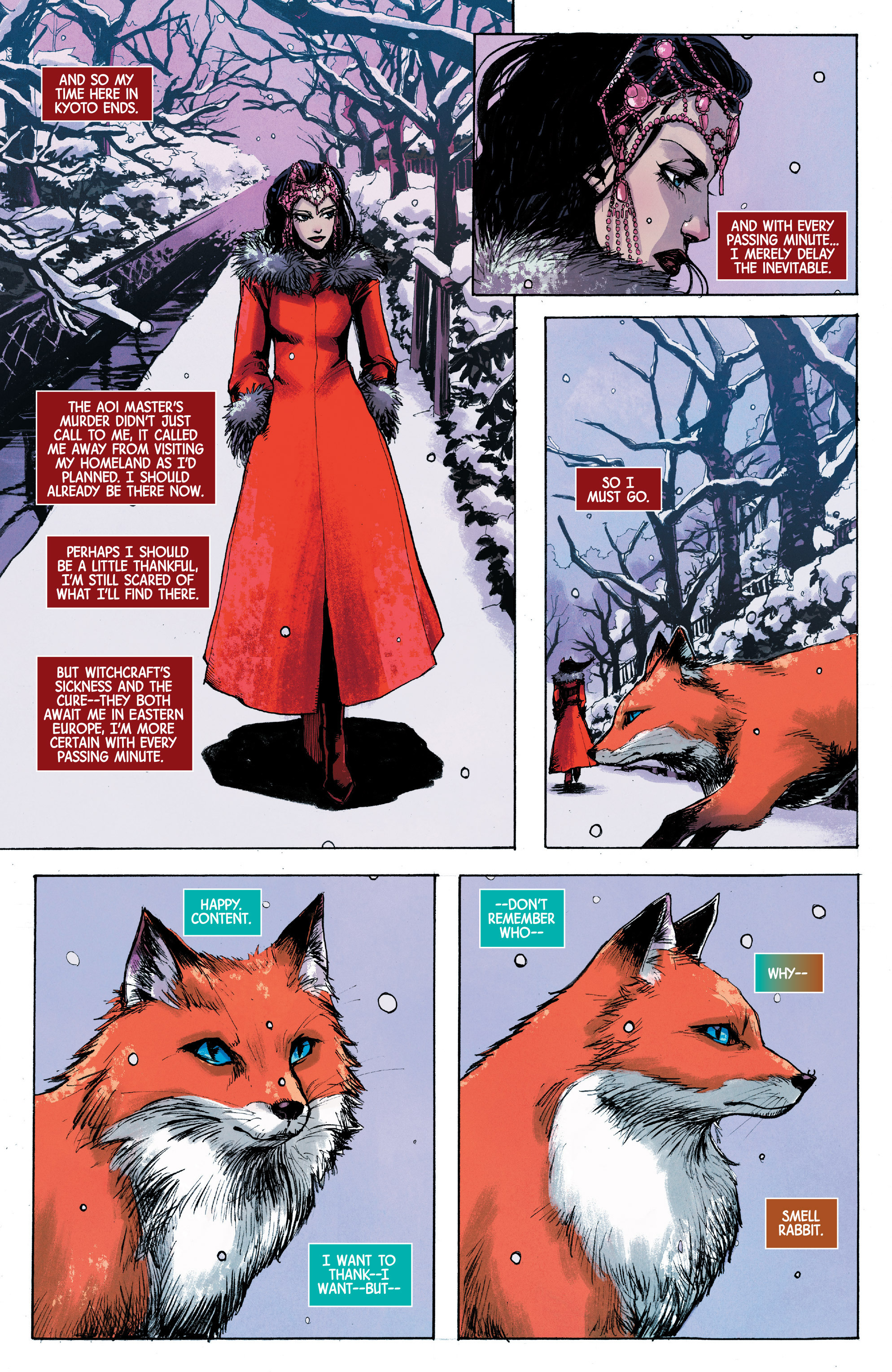 Read online Scarlet Witch (2016) comic -  Issue #10 - 20