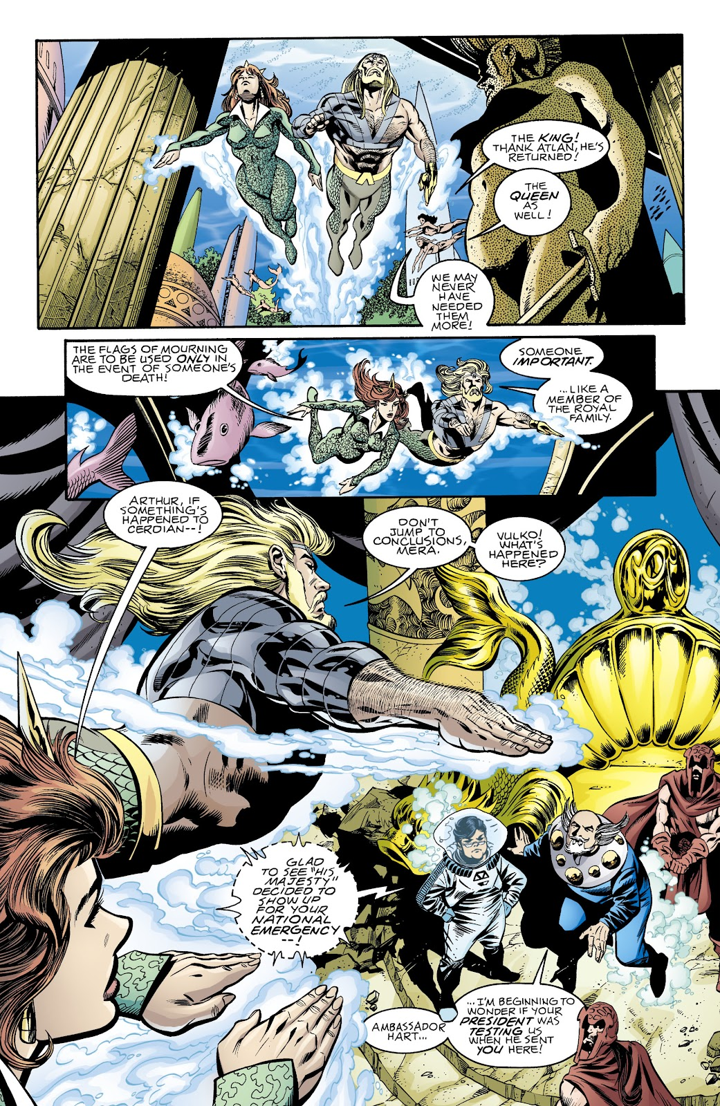 Aquaman (1994) Issue #74 #80 - English 7