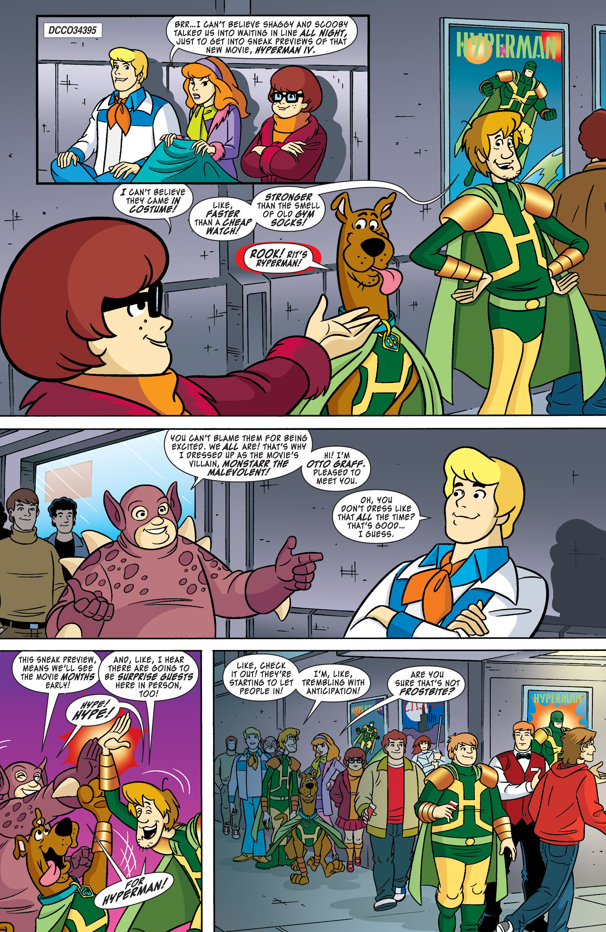 Read online Scooby-Doo: Where Are You? comic -  Issue #55 - 2