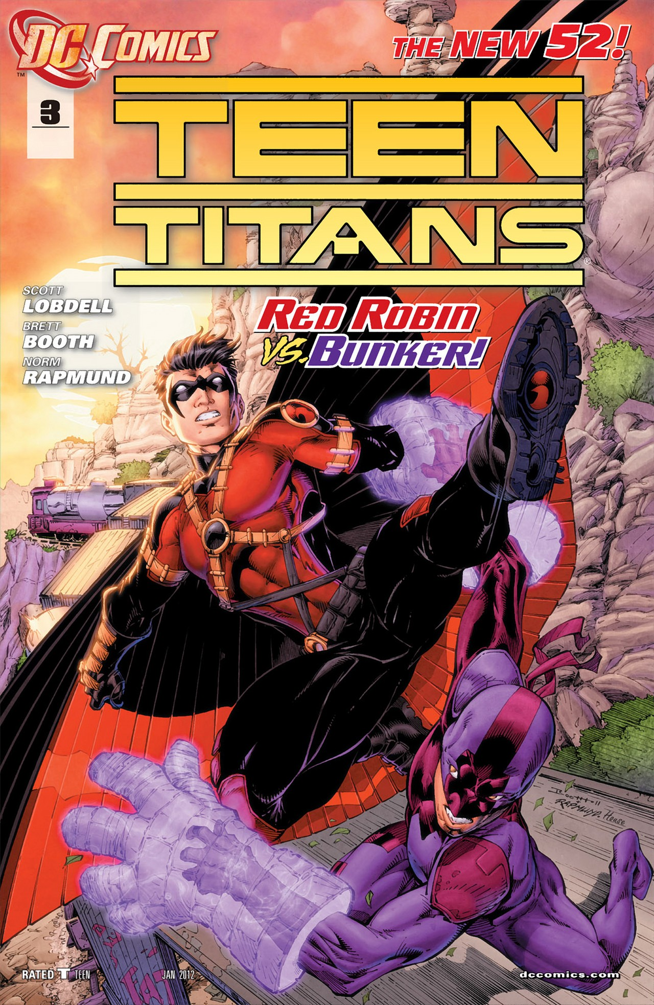 Teen Titans (2011) issue 3 - Page 1