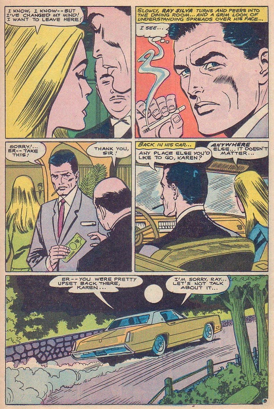 Read online Secret Hearts comic -  Issue #124 - 25