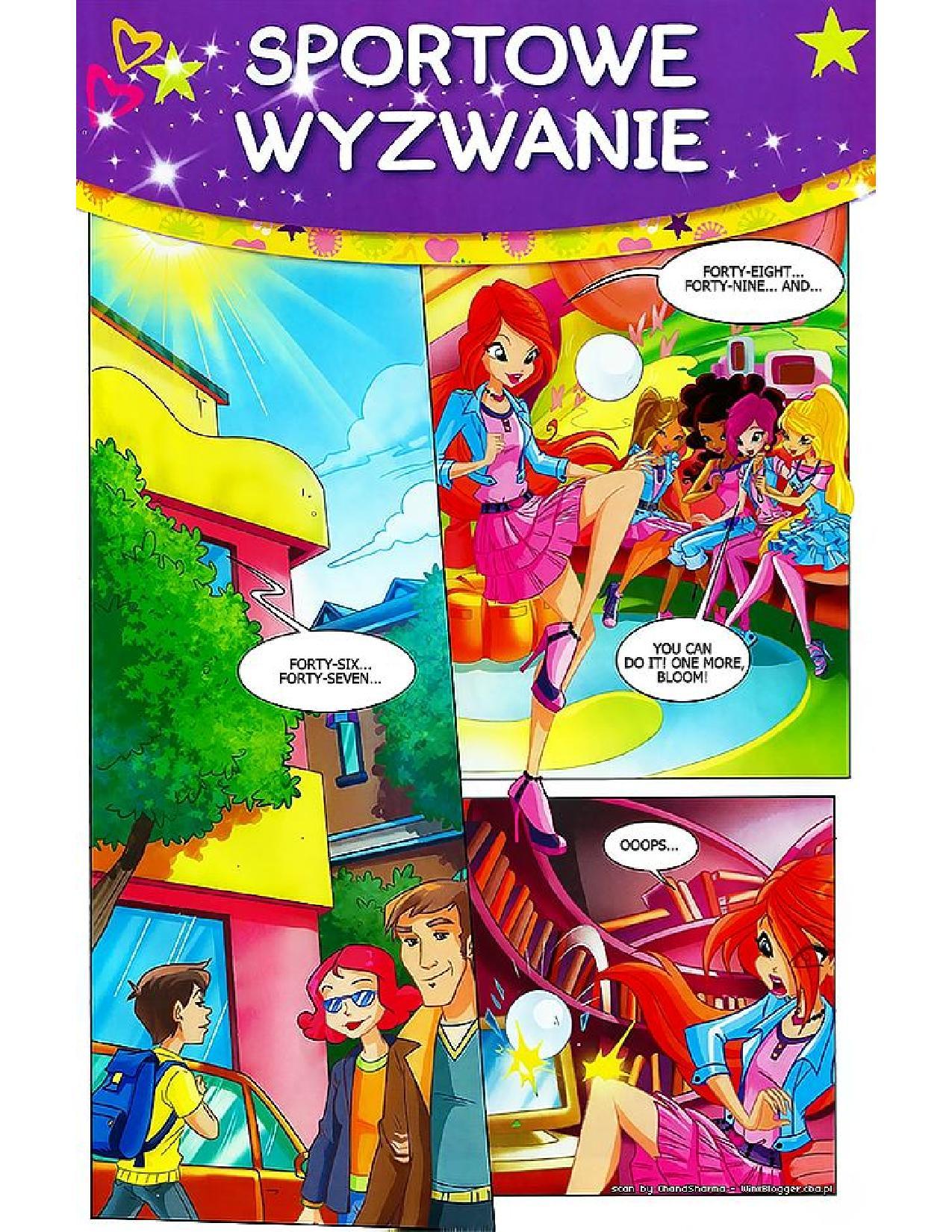 Winx Club Comic 122 Page 1