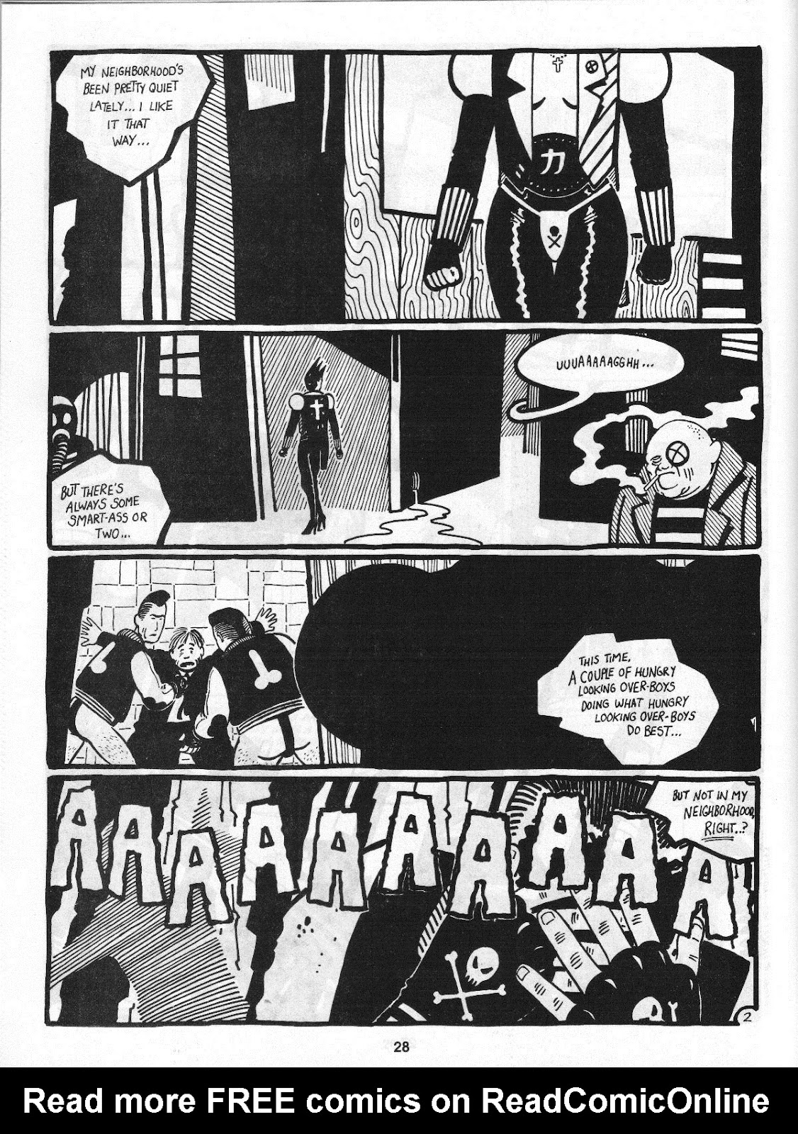 Love and Rockets (1982) Issue #4 #3 - English 30