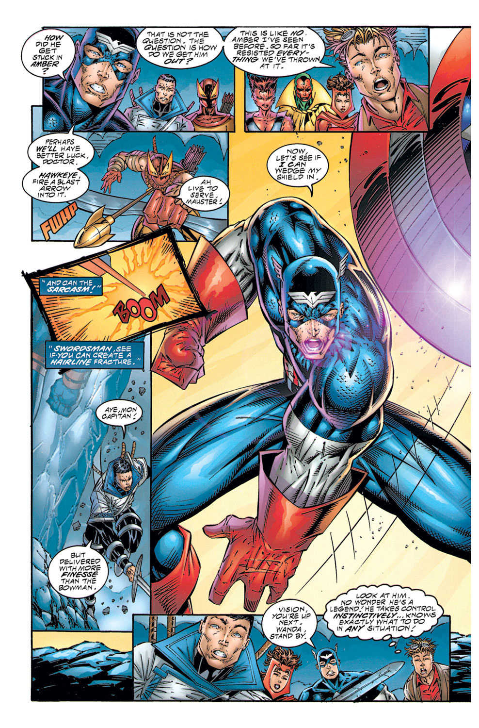 Read online Avengers (1996) comic -  Issue #1 - 21