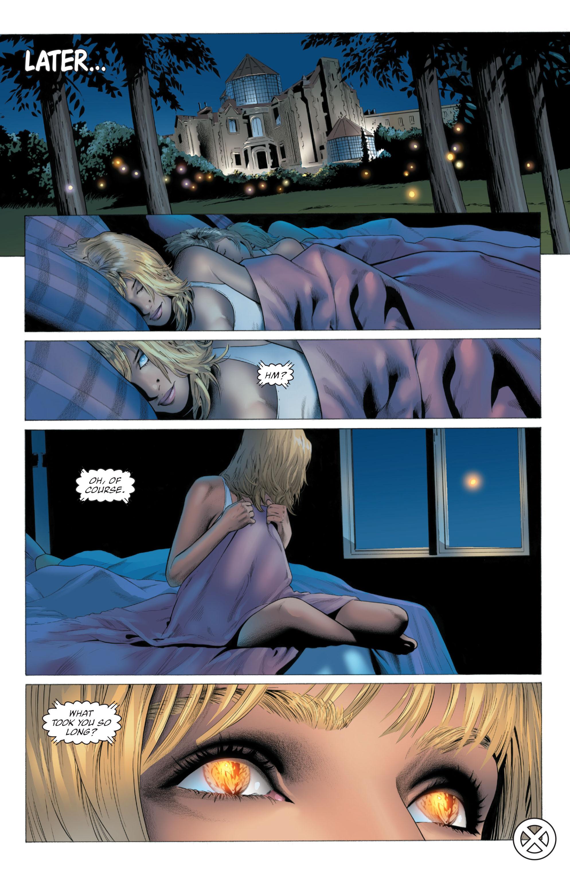 Read online X-Men: Phoenix - Endsong comic -  Issue #5 - 24