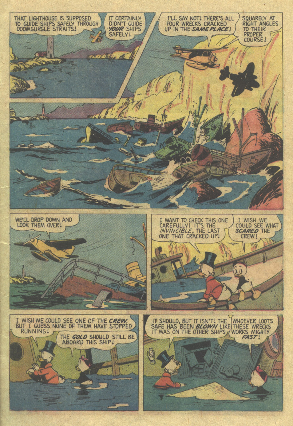 Uncle Scrooge (1953) Issue #119 #119 - English 9