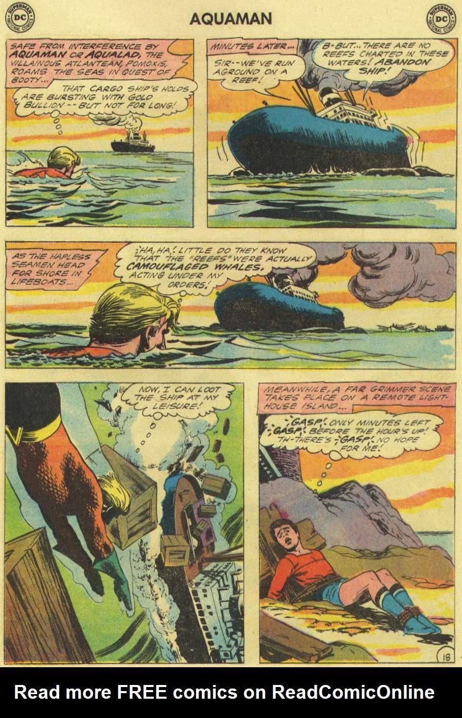 Aquaman (1962) Issue #3 #3 - English 25
