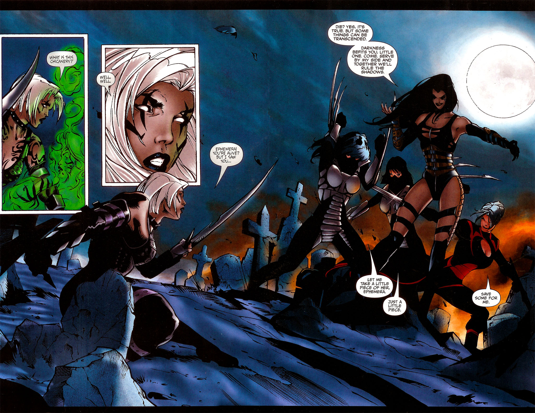 Read online BloodRayne: Dark Soul comic -  Issue # Full - 16