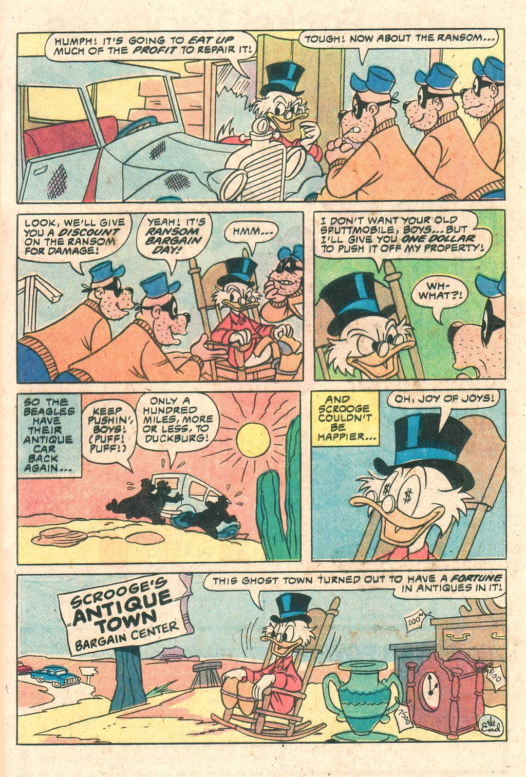 Uncle Scrooge (1953) Issue #180 #180 - English 17