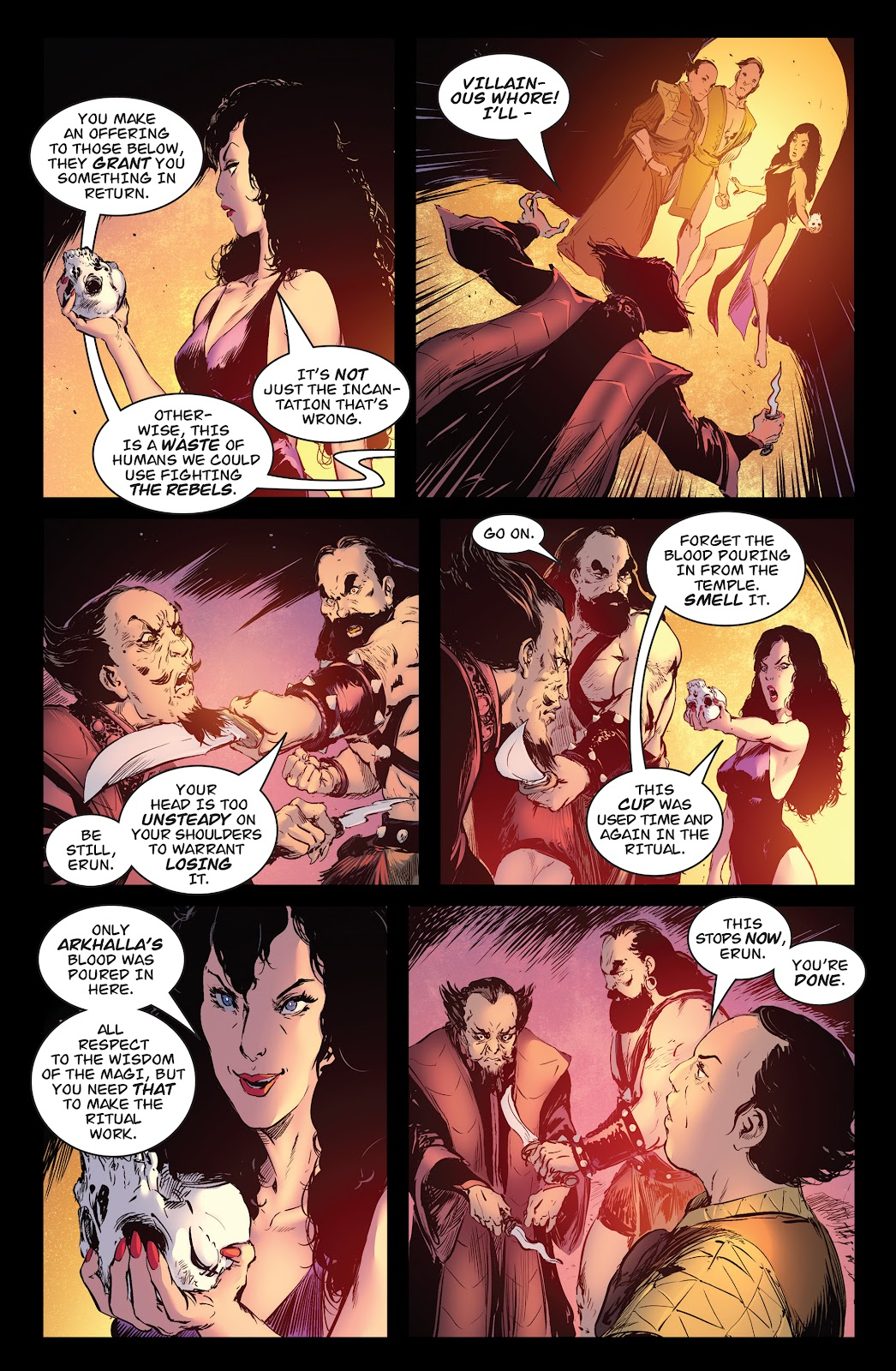 Queen of Vampires Issue #7 #7 - English 13