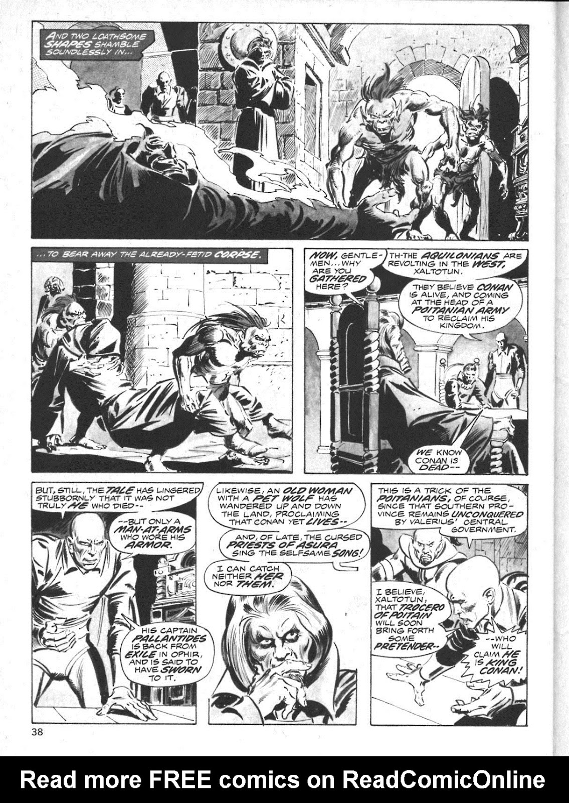 The Savage Sword Of Conan Issue #10 #11 - English 30