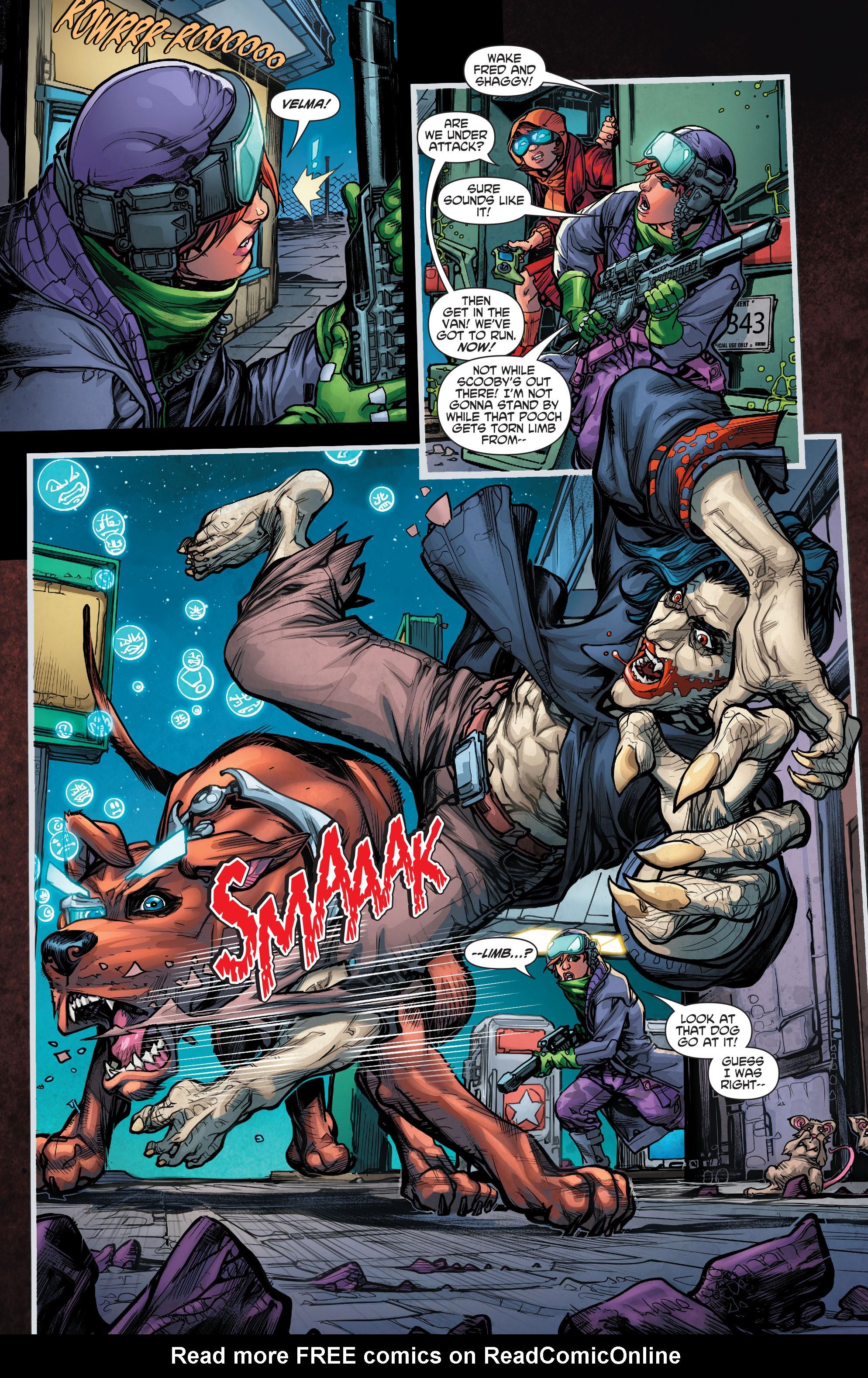 Read online Scooby Apocalypse comic -  Issue #4 - 9