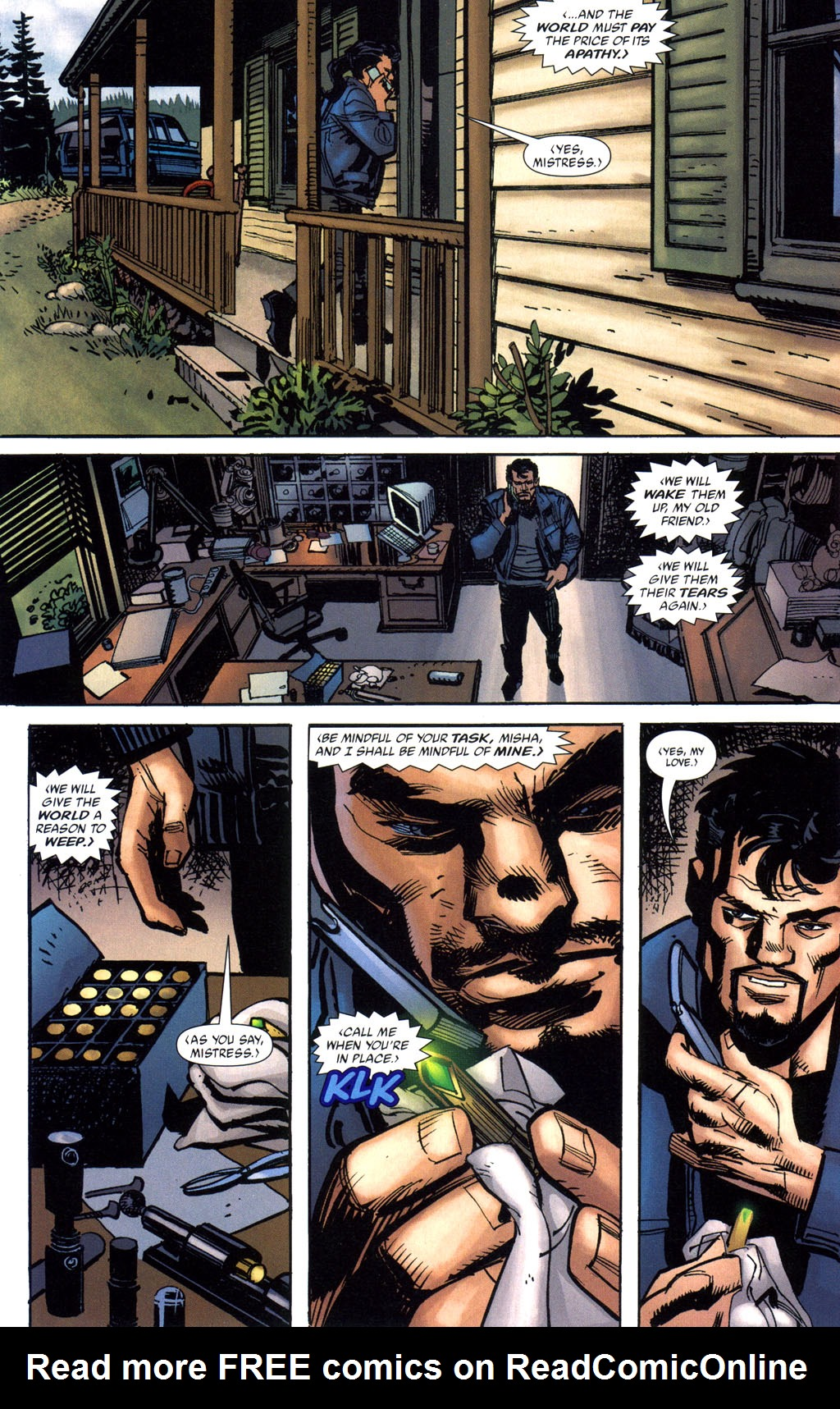 Batman: Death and the Maidens 6 Page 5