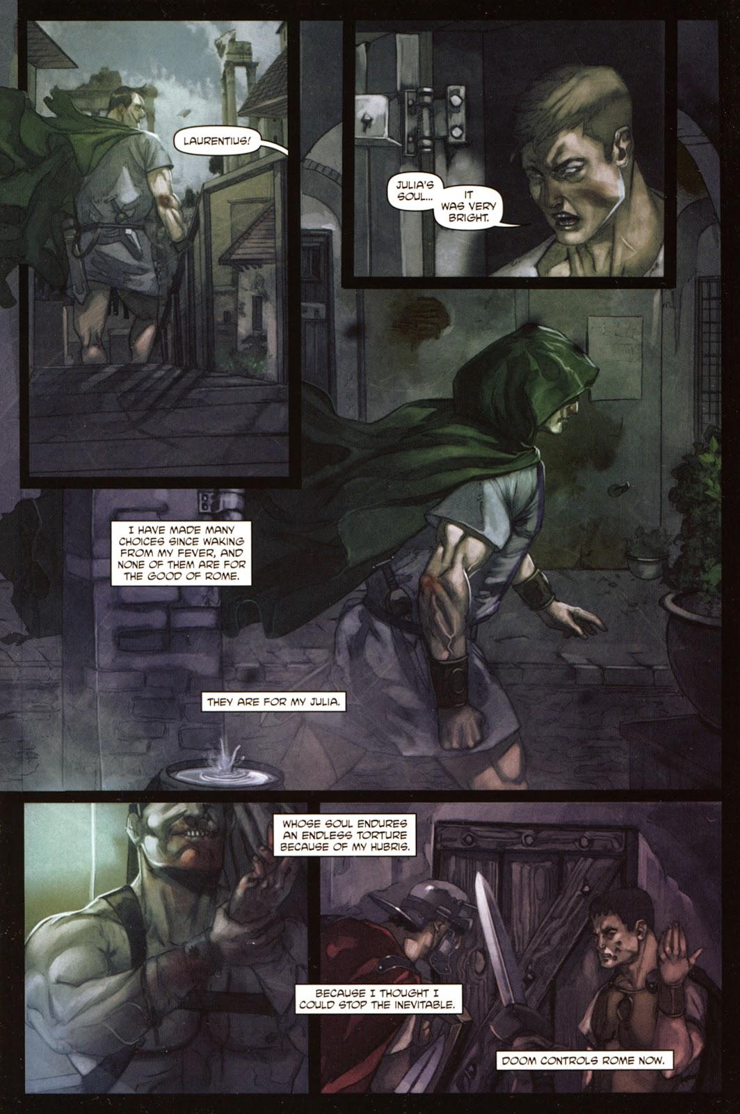 Caligula: Heart of Rome Issue #5 #5 - English 23