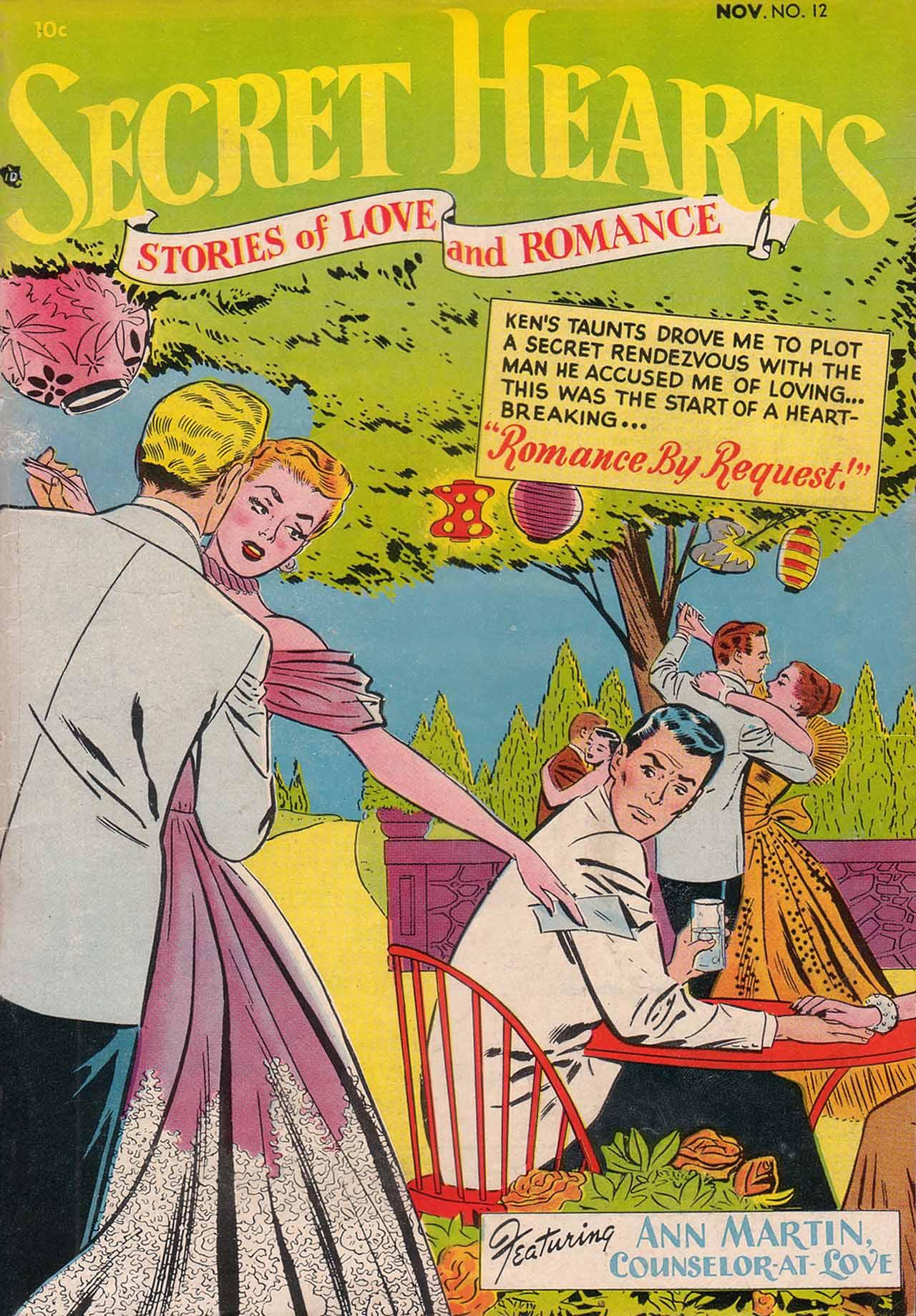 Read online Secret Hearts comic -  Issue #12 - 1