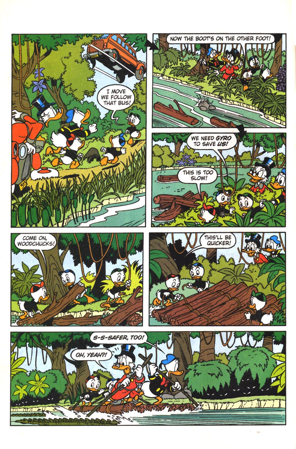 Uncle Scrooge (1953) Issue #307 #307 - English 8