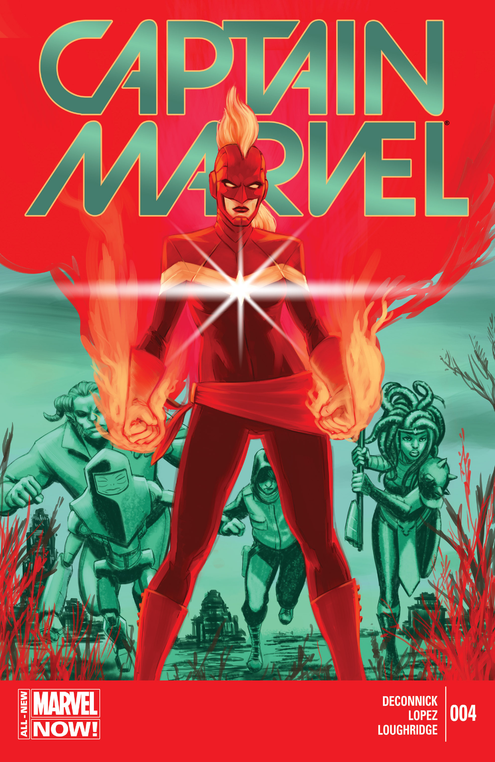 Captain Marvel (2014) 4 Page 1