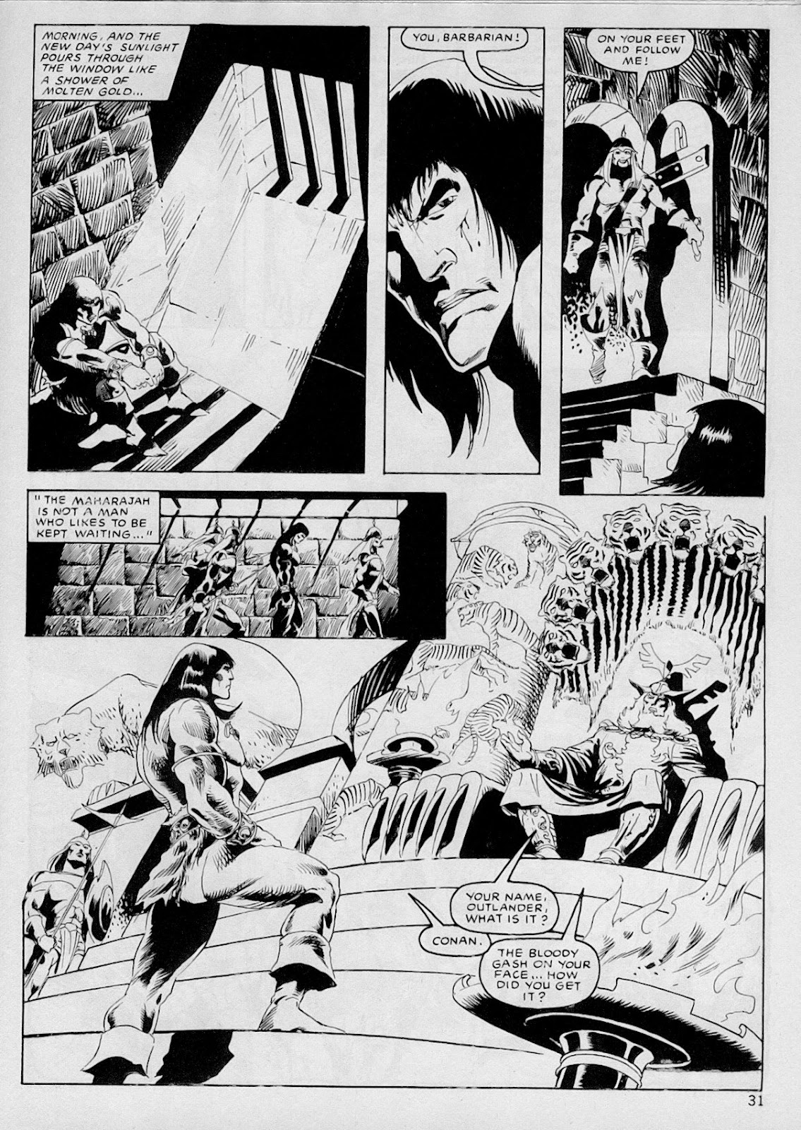 The Savage Sword Of Conan Issue #103 #104 - English 30