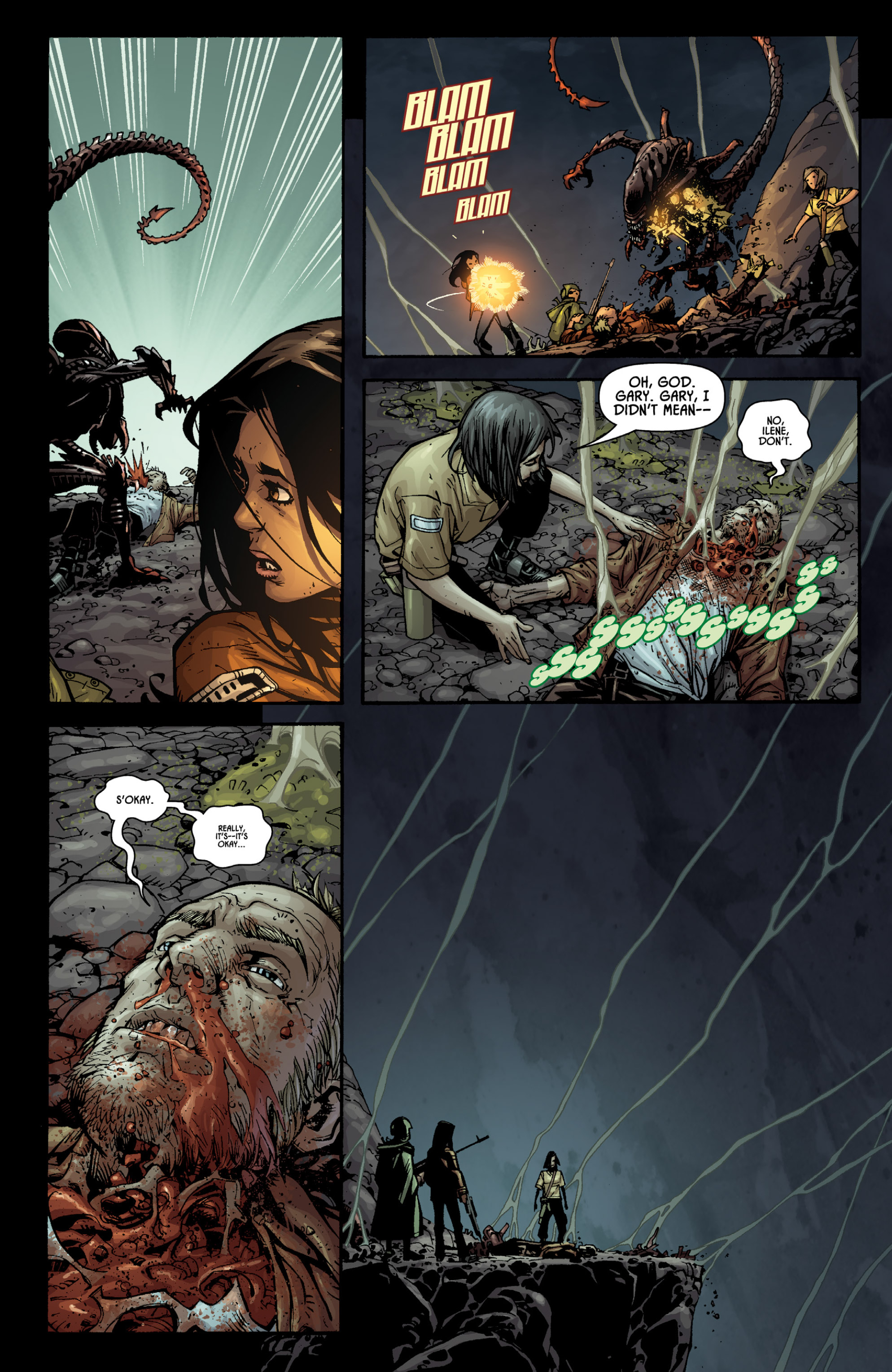 Aliens (2009) TPB Page 91