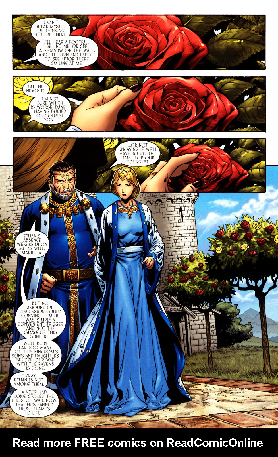 Read online Scion comic -  Issue #14 - 3