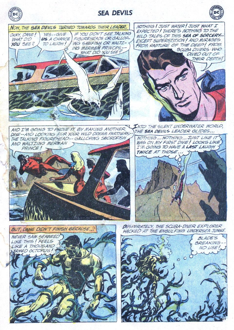 Read online Sea Devils comic -  Issue #4 - 14