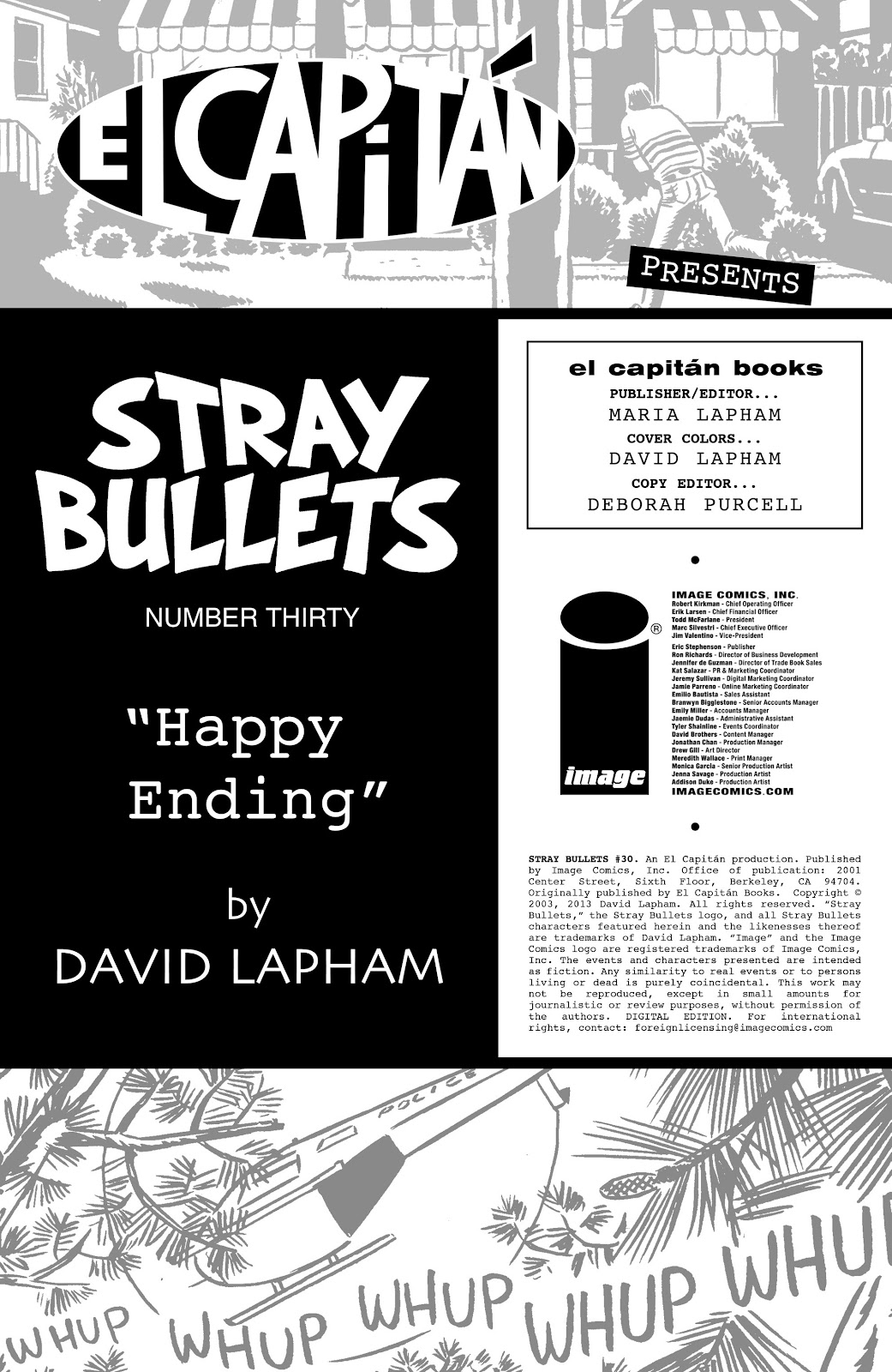 Stray Bullets Issue #30 #30 - English 2