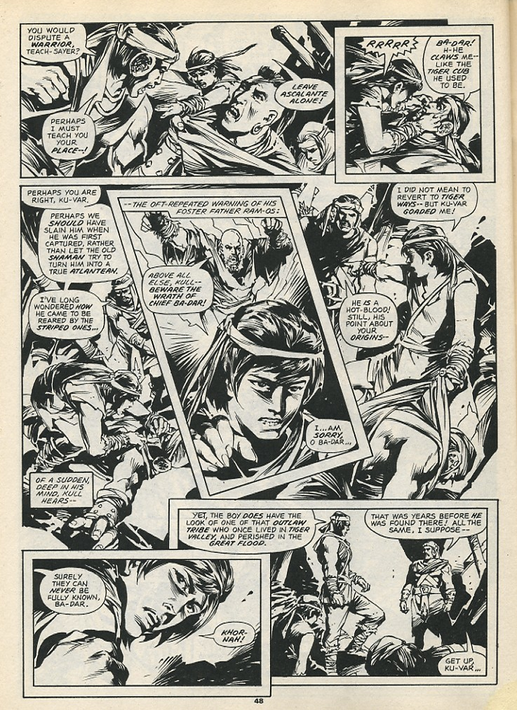 The Savage Sword Of Conan Issue #192 #193 - English 50