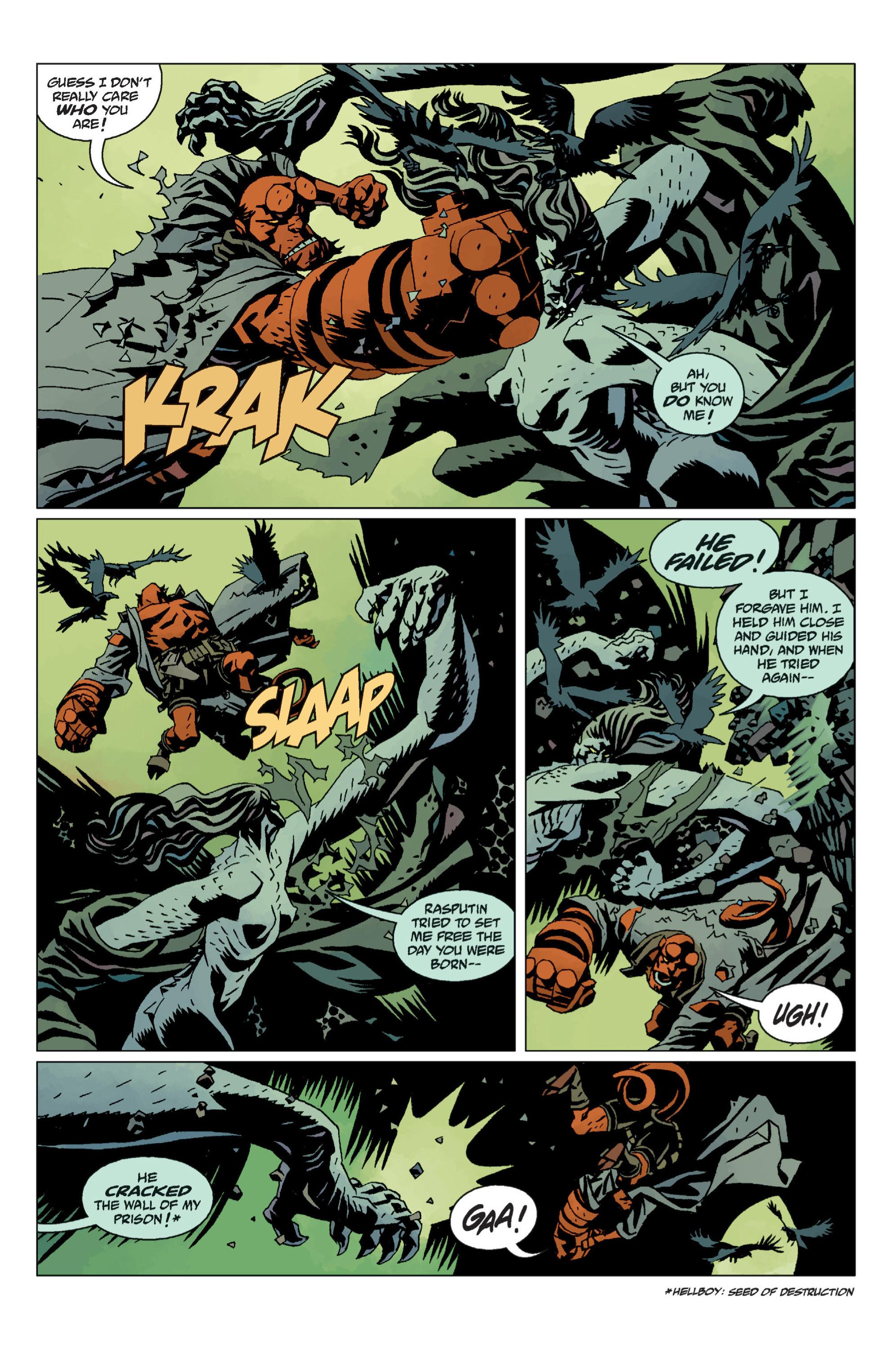 Hellboy chap 12 pic 107