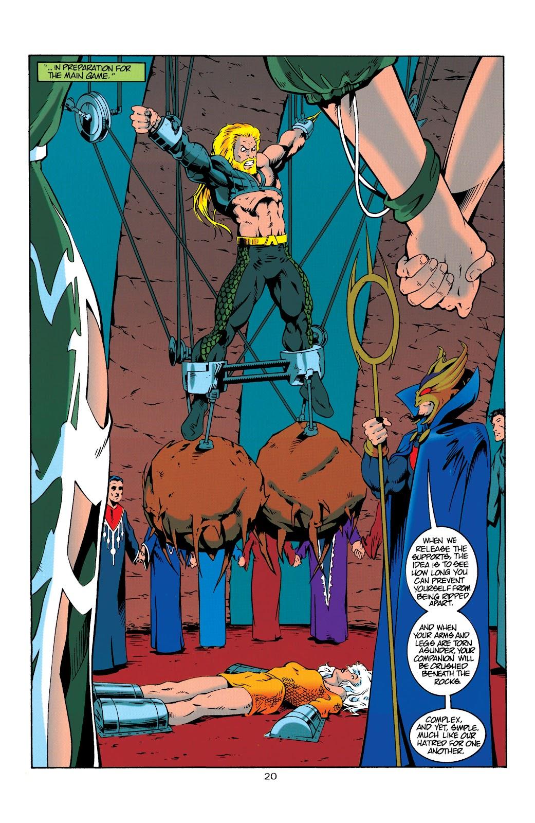 Aquaman (1994) Issue #19 #25 - English 20