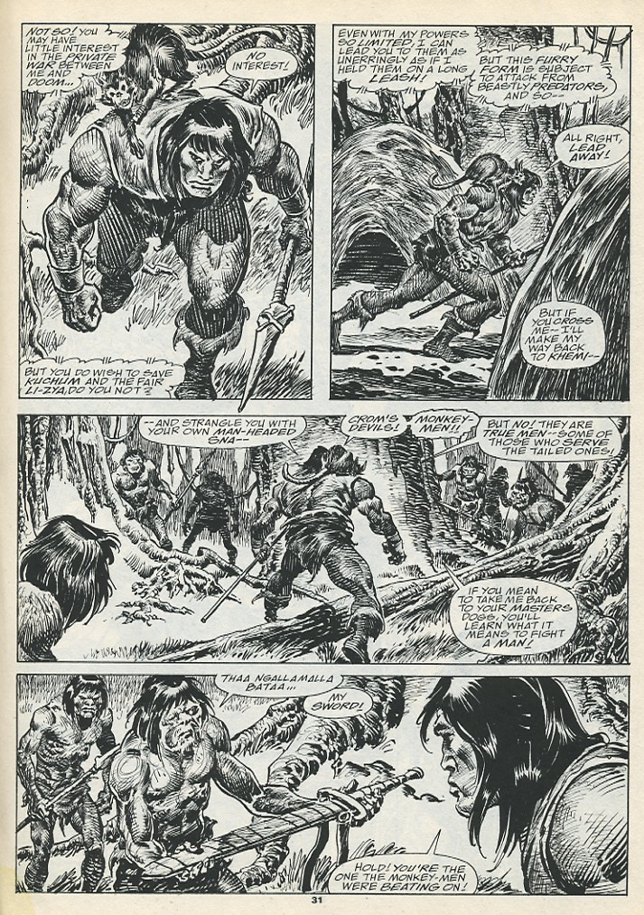 The Savage Sword Of Conan Issue #193 #194 - English 33