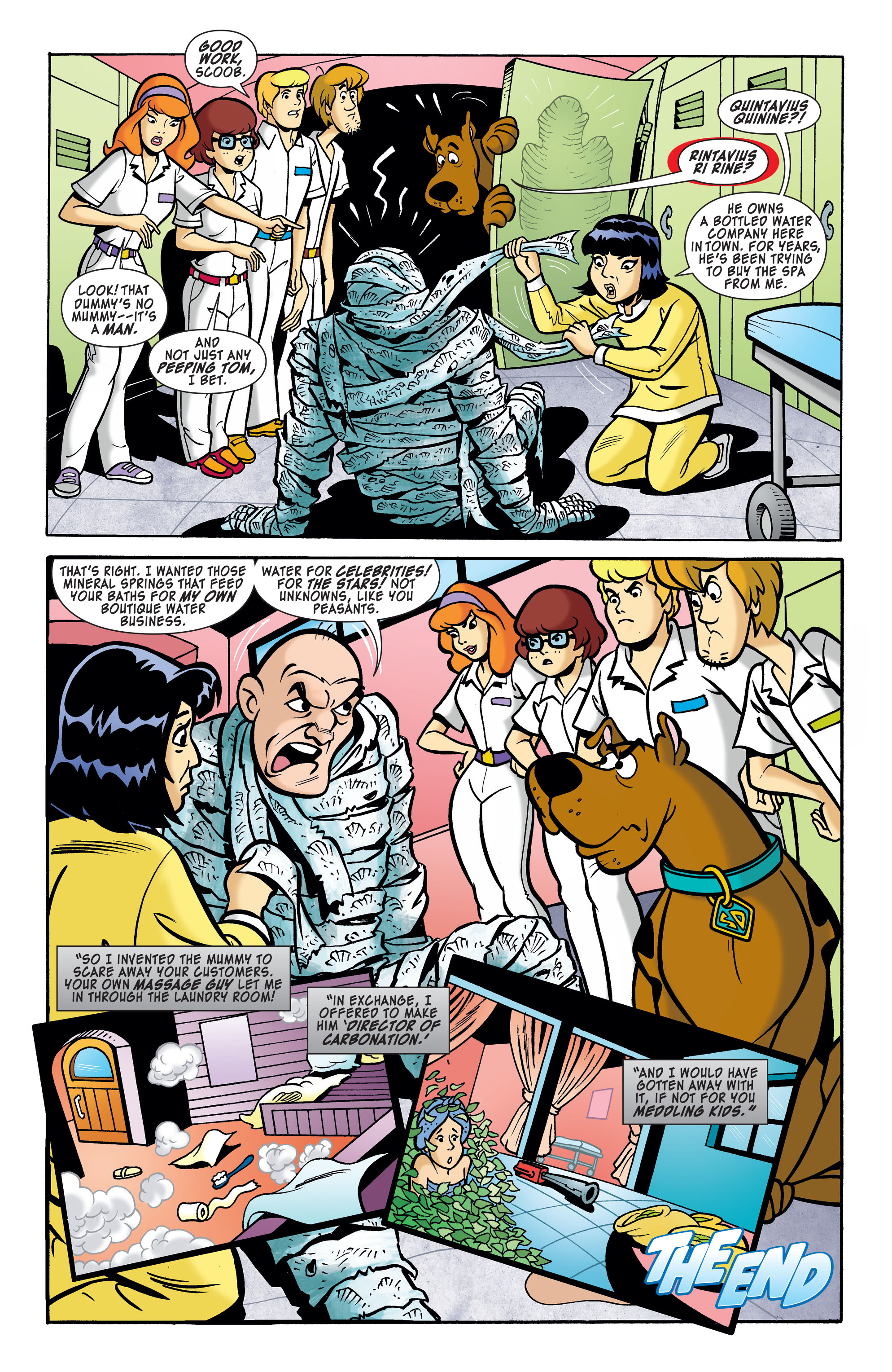 Read online Scooby-Doo: Where Are You? comic -  Issue #62 - 11