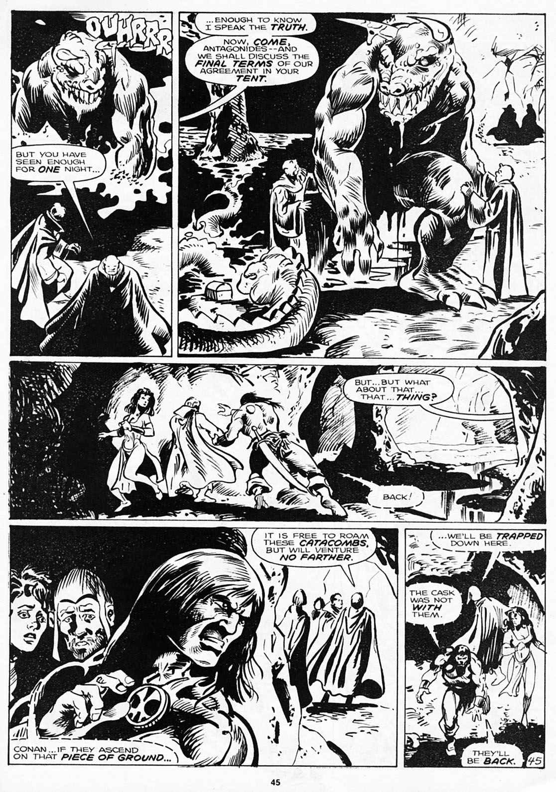 The Savage Sword Of Conan Issue #180 #181 - English 47
