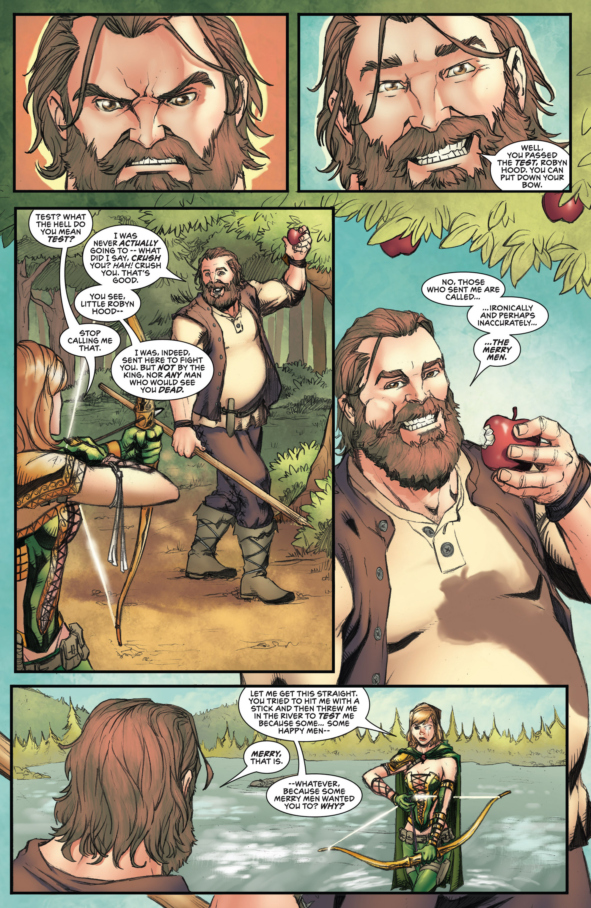 Read online Grimm Fairy Tales presents Robyn Hood (2012) comic -  Issue #3 - 7