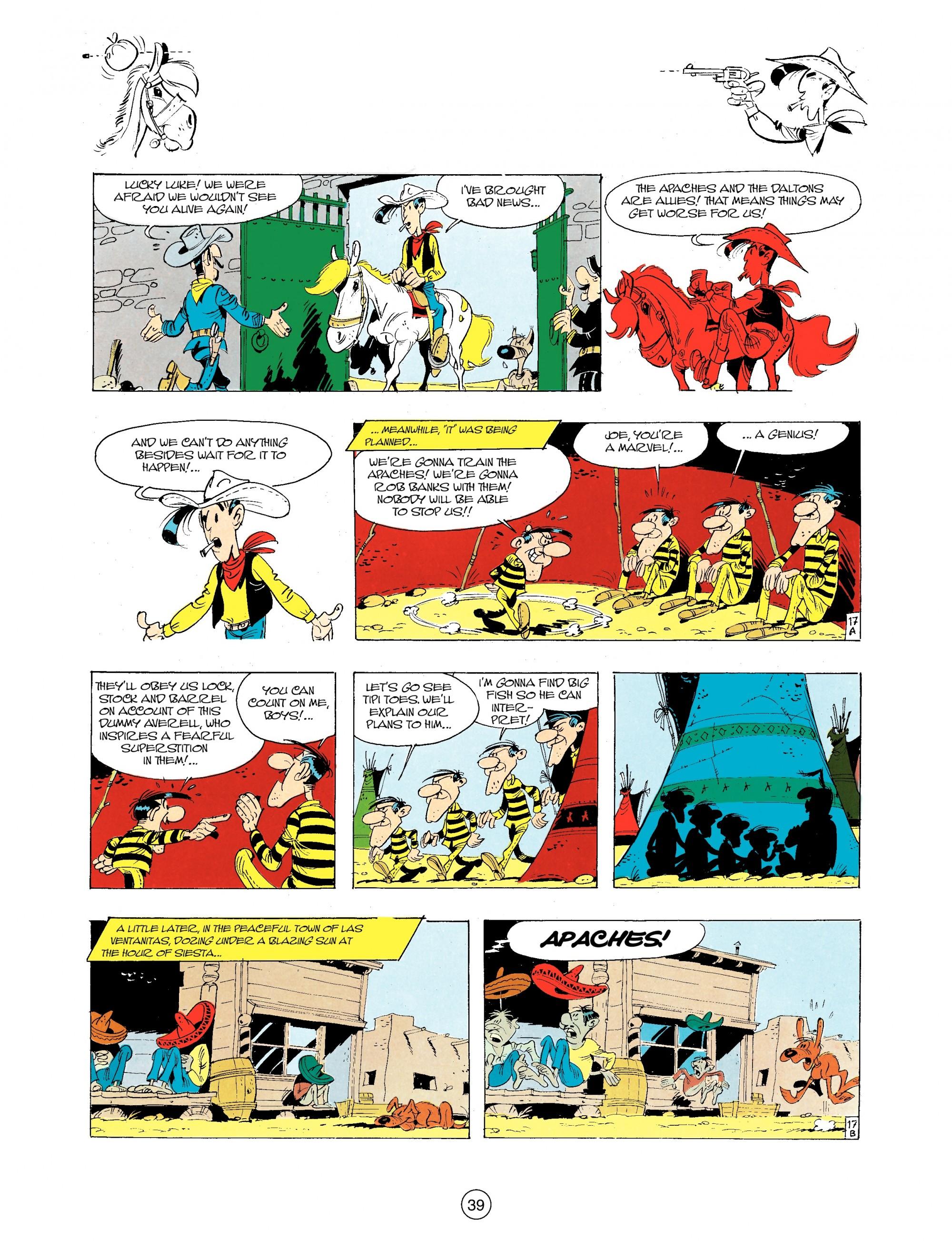 A Lucky Luke Adventure 34 Page 38
