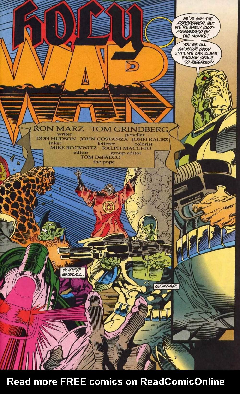 Read online Secret Defenders comic -  Issue #13 - 4