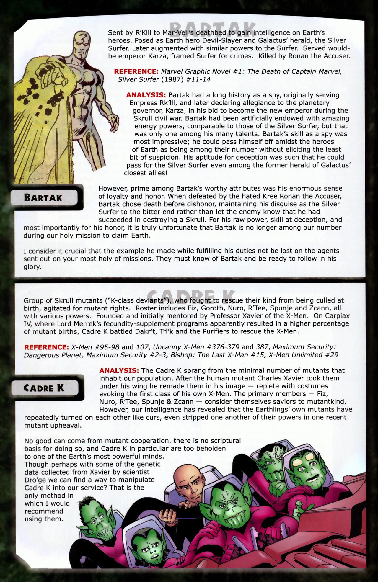Read online Skrulls! comic -  Issue # Full - 8