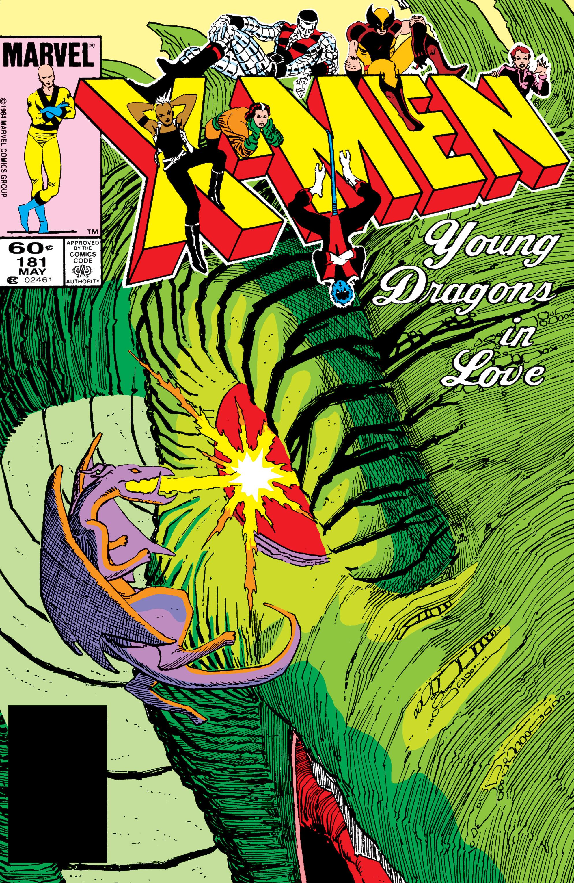 Uncanny X-Men (1963) 181 Page 1